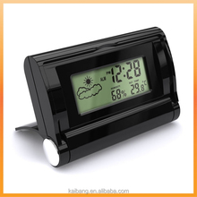 promotional LCD weather station clock