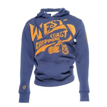 West Coast Choppers Hoody Choppers for Life - Size: XXL - Color: navy