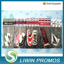 paper flag car freshener
