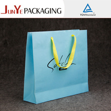 Boutique recycled various style OEM paper shopping bag for gift packaging