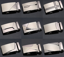 2015 New Arrival Fashion Men Automatic Alloy Buckle Belt Buckles for Business Men High Quality