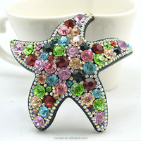 Real Nice beautiful superstar hair clips rhinestone hair jewelry