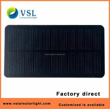 factory direct monocrystalline 5V 1.5W PET solar panel for power bank