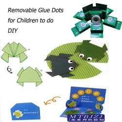 Removable Glue Dots for Children or Students to do DIY