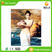 Factory supply high quality 3d diy diamond art nude lady oil painting