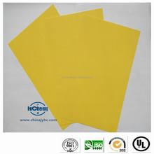 Skillful manufacture thin sheets of fiberglass laminated sheet