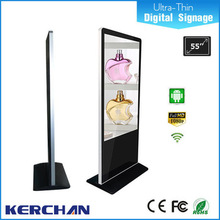 Latest technology 55 inch indoor floor standing lg lcd digital oled touch screen display