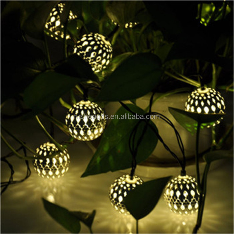 Fairy Lights Outdoor Solar : New product 2016 Globe String Lights 10Led Outdoor Solar Fairy Lights