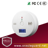 JGW-119QC independent wired household Battery Operated mini carbon monoxide detector