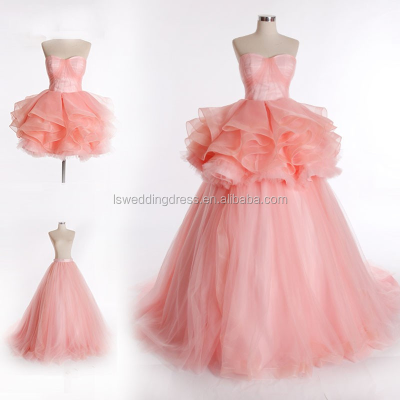 RSM6696 rosa chica de estilo occidental formal de baile vestido ...