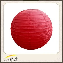 30'' Red Round Chinese Paper Lanterns Wedding Brithday Party Decor