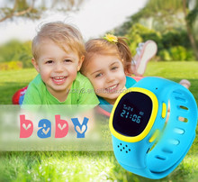 2015 China Best fancy anti-kidnapping OLED touch screen wifi GPS 10 channels body temperature Tracking Watches for Kids