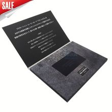 4.3inch sex video card with 2gb memory video greeting card Chinese factory Alibaba