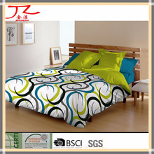 hot selling new design 100 cotton digital printed flat bed sheet / fitted sheet