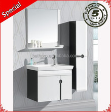 Super white tall size cabinet mirror wooden cheap bathroom vanity BP-1031