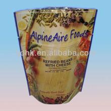 à fond rond debout ziplock 4 1/2 oz recuit grains de café et sacs de fromage