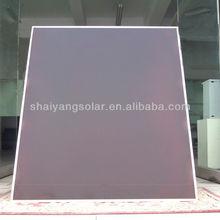 100w amorphous silicon thin film solar panel