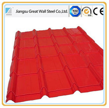 cheap metal roofing material color stone coated steel roof tiles