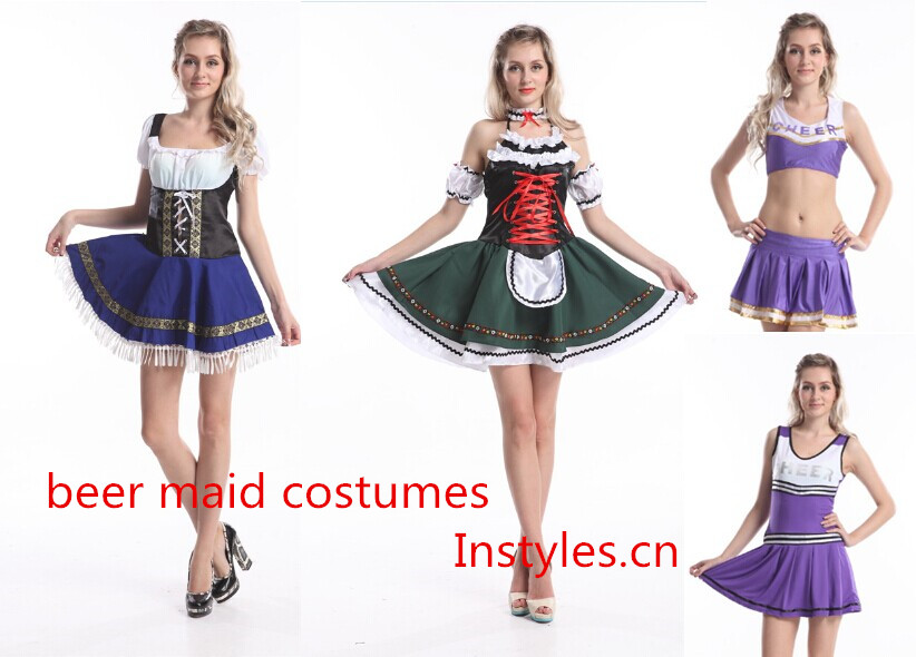 Halloween costumes police costumes cheer leader Alice in wonderland costumes (2)