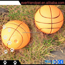 Hot sale basketball squeak electric pet toy supply