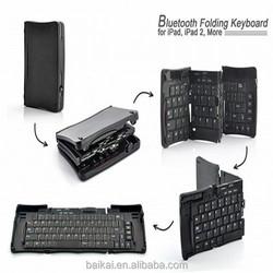 Folding Bluetooth Keyboard Bluetooth 2.0 Wireless keyboard For Apple Mac and Windows
