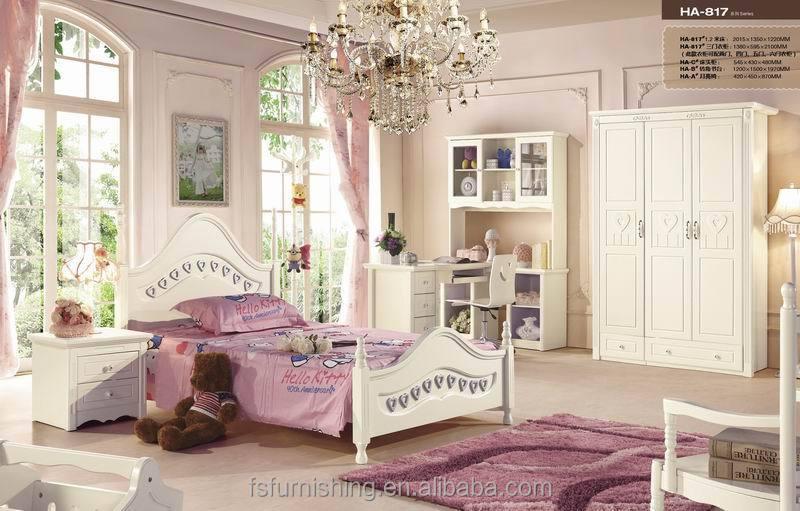 jhy antieke meubelen franse stijl meisjes witte slaapkamer set, Meubels Ideeën