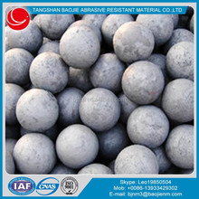 60Mn forged grinding steel balls for mining & cement plant