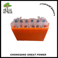 High Performance Gel 12V 6.5Ah MF Motorcycle Battery