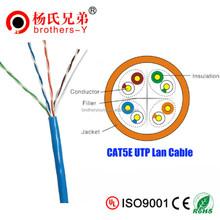LZSH PVC passed fluke test cat5e cable CCA/BC/CCS/CCAM/CCAG