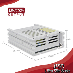 dual output power supply 12v 24v led driver dimmable smps power supply