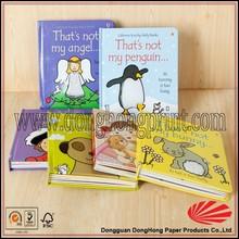 Boa qualidade barato impressão de livros de capa criança