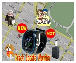 mini watch design GPS personal tracker for kids /the old elder / with SOS alarm,google location support phone call