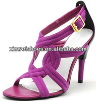 Girls latest hot high heel sexy sandals low heel sandlas