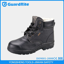 GuardRite Brand Low Price Lightweight Black Steel Safety Shoes Price