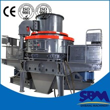 Reliable gravel and sand making machine with CE and ISO