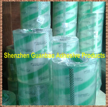 23 micron gloss transparent film with glue for label laminating water proof
