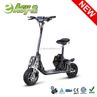 Hot EVO Uberscoot 2 wheel big wheel gas scooter with CE/EPA certificate