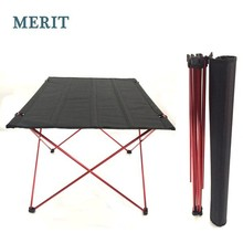 Aluminium Folding Camping Table for Picnic Traveling Outdoor Furniture