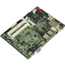 Fanless Mini ITX Industrial Computer Motherboard with 6x USB ports and 2x MINI PCI-e PCM3-D2550