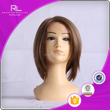 Fashionable Short Chinese human hair lace front wig for african american