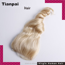 Factory Price Wholesale Virgin Brazilian Remy Lace Front Closure Human Blonde Hair Closure Piece