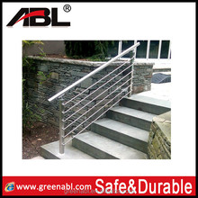 stainless steel stairs handrail outdoor railing balustrade decorative guardrail