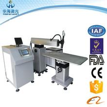 Miller welding machine high quality CE smart CNC channel Ad logo letter laser welding machine