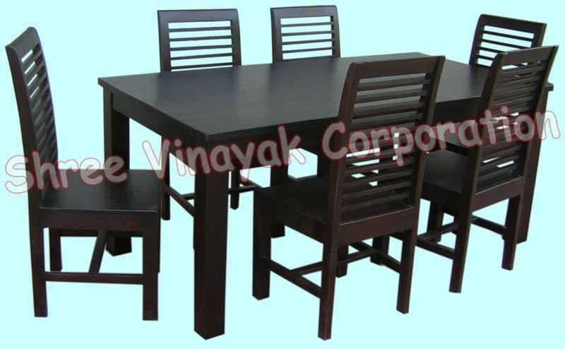 Dining Room Furniture Wooden Dining Table Set Home