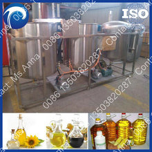 household tiny oil refining plant 3tons/day