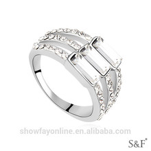 Zircon Fine Jewelry gold rings design for women with price