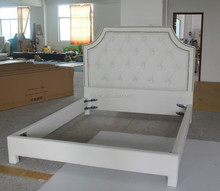 Wooden furniture designs of American fabric style for double