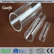high purity heat resistant quartz glass tube and melting point of quartz up to 1730