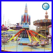 Amazing FUN!!!Outdoor cheap theme park ride children game Self-controlled Airplane for sale