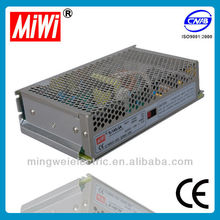 MiWi S-145-12 145W 12V 12A single output switching mode power supply,variable frequency ac power supply,less transformer